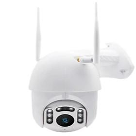 Camera wifi ngoài trời Carecam MT05 PTZ 2.0 Mpx, 2 anten, đèn hồng ngoại xem đêm, đàm thoại 2 chiều, hỗ trợ thẻ nhớ lên tới 128G, cảnh báo chống trộm- Hàng nhập khẩu