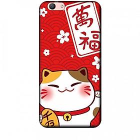 Ốp lưng dành cho điện thoại OPPO F1S Mèo Thần Tài Mẫu 2