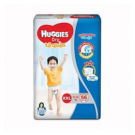 Tã quần siêu thấm Huggies Super Jumbo XXL gói 56 miếng-0