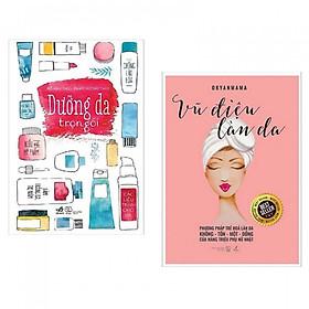 Combo Sách Kỹ Năng Làm Đẹp Hấp Dẫn: Vũ Điệu Của Làn Da + Dưỡng Da Trọn Gói (Tặng kèm Bookmark Phương Đông Books)