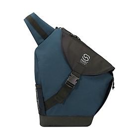 Balo Đeo Chéo Sonoz Le Sling Bag CUULONG0717 (34 x 43 cm) - Xanh Phối Đen
