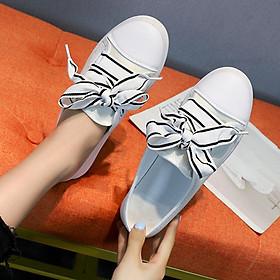 Giày thể thao nữ vải sục dây vải to nhiều màu siêu hot hàng FULL BOX kèm ảnh chi tiết