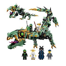 Lắp Ráp Xếp Hình Ninjago Movie Mô Hình Rồng Xanh Huyền Thoại Bất Bại 592 Khối - Đồ Chơi Trẻ Em