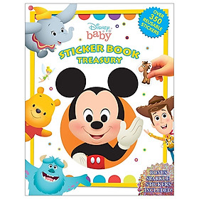 Disney Baby Sticker Book Treasury