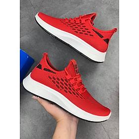 Giày Thể Thao Nam, Giày Sneaker Nam Màu Đỏ Đế Êm Nhẹ S360