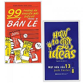 Combo Sách Kinh Tế Dành Cho Nhà Kinh Doanh : 99 Phương Án Khuyến Mãi Diệu Kỳ Trong Bán Lẻ + Một Nửa Của 13 Là 8 - (Tặng Kèm Bookmark Thiết Kế)