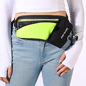 Unisex Waist Bag Waterproof Large Capacity Adjustable Strap Zipper Reflective Stripe Climbing Hiking Sports Bag Waist-0