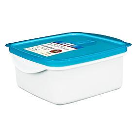 Bộ 2 Hộp Nhựa Vuông Micron Ware BJCP6035-2 (1.3l) - Màu Ngẫu Nhiên