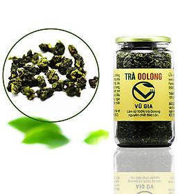 Trà Oolong Nguyên Chất Bảo Lộc Vũ Gia (85gr/hũ) - Nguyên liệu nấu trà sữa trân châu thơm ngon tại nhà, giảm cân an toàn