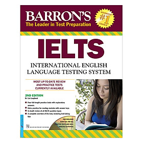 Barron's IELTS International English (2nd Edition)+2CD (Tái Bản)