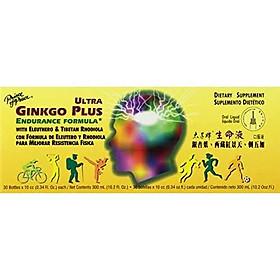 Prince Of Peace - Ultra Ginkgo Plus, 30 Bottles, 0.34 OZ/Each, 10.2 fl oz