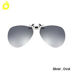 NINGMENG Polarized Clips Polarizing Sunglasses Anti-UV Night Vision Aluminium Alloy Lightweight Adjustable Lens for Car
