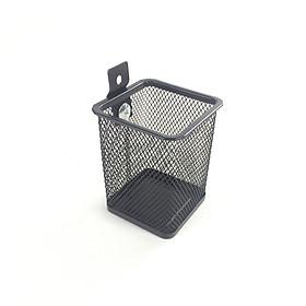 Rổ vuông bên hông xe màu đen dành cho mọi loại xe máy