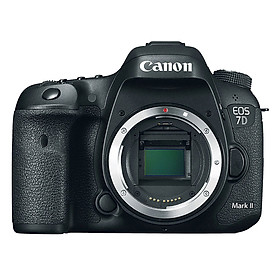 Máy Ảnh Canon 7D Mark II body (Hàng nhập khẩu) - Tặng thẻ 16GB + tấm dán màn hình
