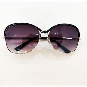Mắt kính nữ kính mát thời trang gọng xoắn đôi MS08