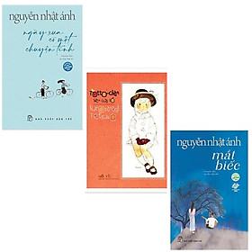 Combo 3 cuốn truyện hay:Mắt Biếc (Tái Bản 2019) +Truyện Nguyễn Nhật Ánh: Ngày Xưa Có Một Chuyện Tình (Phần 2 của Mắt Biếc)