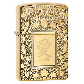 Bật Lửa Zippo Chinese Love 49022