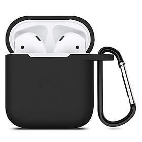 Bao Case Silicon Dành Cho Tai Nghe Apple Airpods Có Móc Khóa
