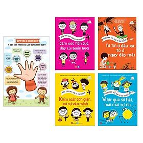 Set Sách Nuôi Dưỡng Trí Tuệ Cảm Xúc Cho Trẻ: Những Cuốn Sách Thần Kỳ Của Filliozat + Poster Cho Con Yêu (Sách Thiếu Nhi Kiến Thức - Bách Khoa)