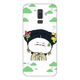 Ốp Lưng Dẻo Diên Hy Công Lược Cho Điện Thoại Samsung Galaxy J8 - Phú Sát Hoàng Hậu