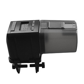 Time Setting Automatic Fish Feeder for Healthy Ornamental Fish Convenient Easy Installtion Fish Can Aquariums Feed