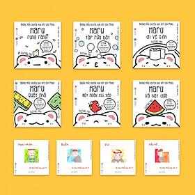 Full 10 cuốn Ehon Maru và bộ Cảm xúc