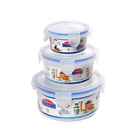 Bộ 3 hộp nhựa đựng thực phẩm Việt Nhật