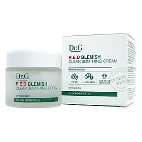 Kem Trị Mụn Làm Dịu Da Ửng Đỏ Và Kích Ứng Dr.G Red Blemish Clear Cream MM11 (70ml)