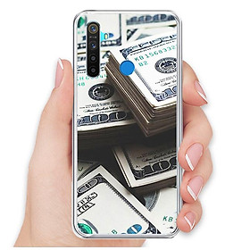 Ốp lưng điện thoại Realme 5 - Silicon dẻo - 0493 Dollar01 - Hàng Chính Hãng
