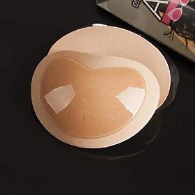 Miếng dán hình tim siêu dính, đẩy ngực, có thể tái sử dụng nhiều lần, vệ sinh dễ dàng, sử dụng tiện lợi có hai màu đen và da size thích hợp nhiều cỡ áo ngực
