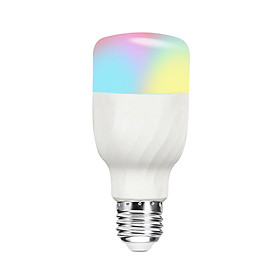 Bóng Đèn LED RGB+W Thông Minh Điều Khiển Độ Tối Từ Xa Bằng Wifi Điện Thoại Tương Thích Alexa V7 E27 (11W)