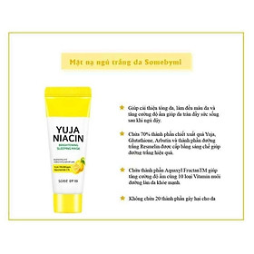 Bộ sản phẩm dưỡng da Some By Mi Yuja Niacin 30 Days Brightening Stater Kit-Edition