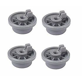4Pcs Wheel for Bosch Siemens Neff 165314 Dishwasher Accessories