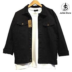 Áo khoác jean nam Julido, phong cách thời trang thu đông mẫu mới NB02