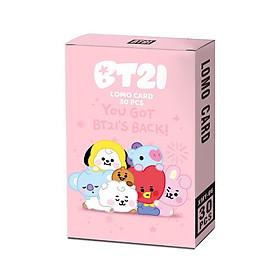 Lomo card BT21 BTS