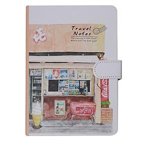 Sổ Tay Planner Ghi Chú Quản Lí Kế Hoạch Hiệu Quả Cao Cấp - Travel Notes