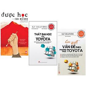 Combo 3 Cuốn Được Học + Thất Bại Học Của Toyota + Giải Quyết Vấn Đề Theo Phương Toyota