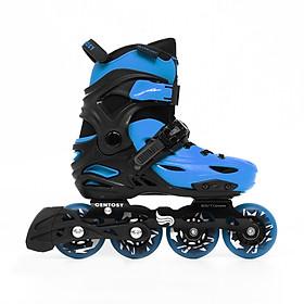 Giày Patin Centosy Kid Pro 2 Hàng chính hãng với thiết kế bắt mắt có thể đi được từ 2 đến 3 năm phù hợp với bé từ 3 đến 15 tuổi có các màu dễ lựa chọn cho các bé là trò chơi lành mạnh giúp bé rèn luyện tăng cường sức khoẻ tốt hơn