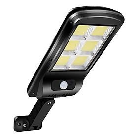 Đèn LED COB năng lượng mặt trời liền thể 60w (cảm biến chuyển động, cảm biến ánh sáng)