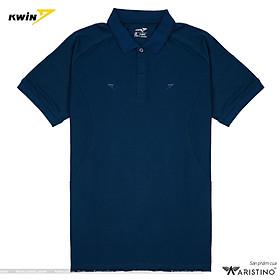 Áo phông trơn có cổ KWIN 3 màu dễ mặc, form rộng, chất liệu cao cấp mềm mịn, thoải mái vận động - Mã KPS011S8