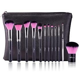 Bộ cọ trang điểm MSQ màu hồng 12 cây MSQ New Arrival 12Pcs Make up Brush (pink)