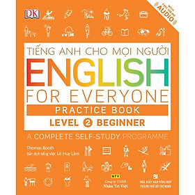 Sách - English for Everyone - Level 2 Beginner - Practice Book (kèm CD)