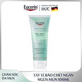 Tẩy Tế Bào Chết 100ml Eucerin Pro Acne Scrub Ngăn Ngừa Mụn