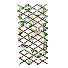 Hàng rào gỗ trang trí trong nhà - Hàng rào treo cây cảnh - Hàng rào treo tường
