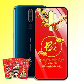 Ốp Lưng Kính Cường Lực cho điện thoại Oppo A9 2020 - 0383 7971 PHUC03 - Tặng kèm bao lì xì xinh xắn Chúc mừng năm mới - Hàng Chính Hãng