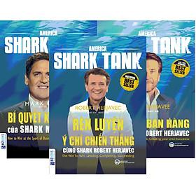 """Combo 3 Cuốn Huấn Luyện Kinh Doanh Cùng America Shark Tank - Đánh Thức Bản Năng """" Cá Mập """" Trong Bạn (tặng kèm bookmark )"""