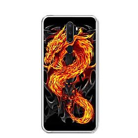 Ốp lưng dẻo cho điện thoại Oppo A5 2020 - 0218 FIREDRAGON - Hàng Chính Hãng