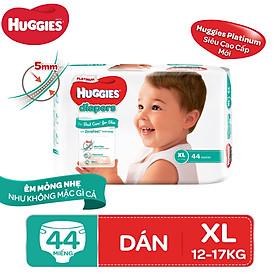 Biểu đồ lịch sử biến động giá bán Tã dán Huggies Diapers Platinum XL44