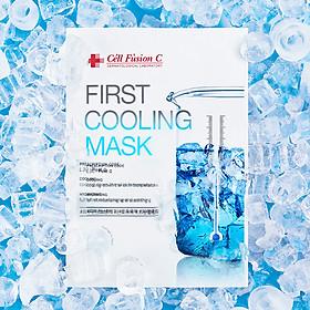 Mặt Nạ Dịu Da Khẩn Cấp Cell Fusion C First Cooling Mask 27g x 5miếng