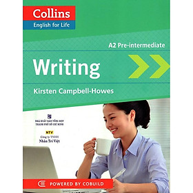 Sách - Collins English For Life - Writing A2 Pre-intermediate